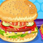 Игра Игра Готовить бургеры