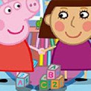 Игра Игра Пазлы Пеппа Свинка