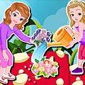 Игра Игра София и Эмбер садовники