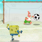 Игра Игра Губка Боб против Патрика: футбол