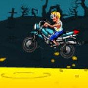 Игра Игра Зомби: прыжки гонщика
