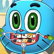 Игра Игра Гамбол лечит зубы
