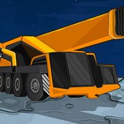 Игра Игра Парковка космического крана / Space Crane Parking
