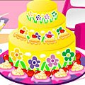 Игра Игра Летнее украшение торта / Summer Cake Decorating