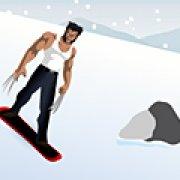 Игра Игра Росомаха-сноубордист
