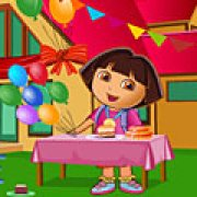 Игра Игра Уборка Даши после дня рождения