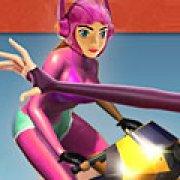 Игра Игра Хани Лемон: гонка на мотоцикле