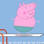 Игра Игра Папа Свин прыжки в воду