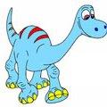 Игра Игра Раскраска хороший динозавр: Арло