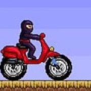 Игра Игра Ниндзя на мотоцикле