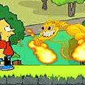 Игра Игра Симпсоны: Барт в Зомбиленде