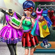 Игра Игра Леди Баг за покупками
