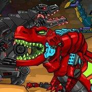 Игра Игра Приключения роботов динозавров