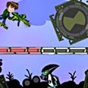 Игра Игра Бен 10: Бомбардировщик