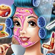 Игра Игра Белоснежка реальный макияж