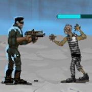 Игра Игра Космическая штормовая группа против зомби