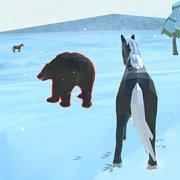 Игра Игра Симулятор Семьи Лошадей: Зима