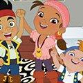 Игра Игра Джейк и Пираты Нетландии: переделки комнат