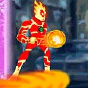 Игра Игра Ben 10 Heatblast attack