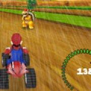 Игра Игра Гонка под дождем Марио 3