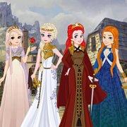 Игра Игра Принцессы Диснея: игры престолов