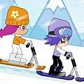Игра Игра Ами Юми сноубордисты
