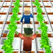 Игра Игра Майнкрафт: бег шахтера