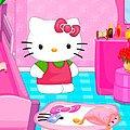 Игра Игра Хелло Китти: уборка в комнате