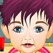 Игра Игра Первая стрижка ребенка в салоне