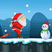 Игра Игра Дед Мороз на коньках