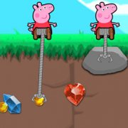Игра Игра Свинка Пеппа золотоискатель на двоих