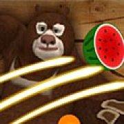 Игра Игра Медведь режет фрукты