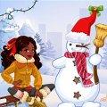 Игра Игра Ты хочешь слепить снеговика?