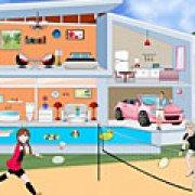 Игра Игра Современный кукольный домик Эльзы и Анны