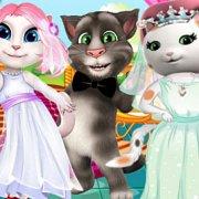 Игра Игра Говорящий Том: конкурс невест Анжелы и Шерифа Келли