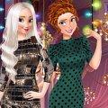 Игра Игра Модный Новый год с принцессами Диснея
