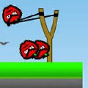 Игра Игра Злые яблоки