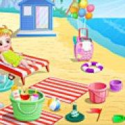 Игра Игра Ребенок на пляже