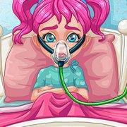 Игра Игра Лечить грипп малышки