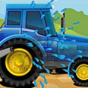 Игра Игра Мойка трактора