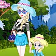 Игра Игра Эльза и ее дочь