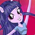 Игра Игра Девушки Эквестрии: Твайлайт Спаркл прически и макияж