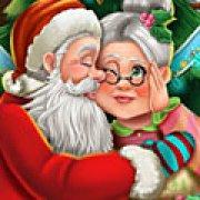 Игра Игра Дед Мороз целует бабушку