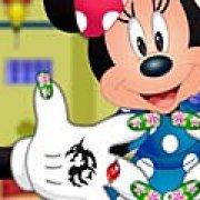 Игра Игра Минни Маус: маникюр