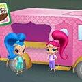 Игра Игра Шиммер и Шайн: фестиваль фургонов с едой