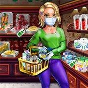 Игра Игра Покупки в магазине в коронавирус