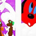 Игра Игра Раскраски: Минни и Чип и Дейл