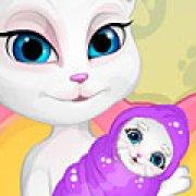 Игра Игра Говорящая Анжела стала мамой