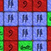 Игра Игра Три в ряд: камни фараона