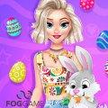 Игра Игра Эльза Холодное сердце: Охота за Пасхальными Яйцами